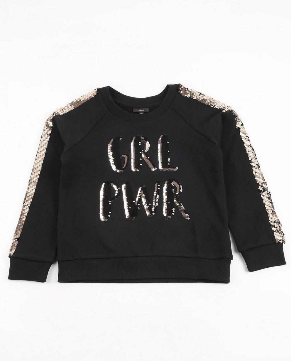 Sweater met pailletten - null - JBC
